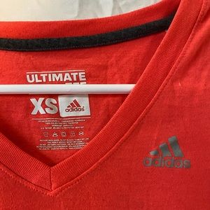V-neck adidas short sleeve top